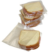 FSE Small Disposable Sandwich Bags - Foodservice Essentials