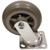 "Great Lakes Caster 6"" Swivel Polyurethane Caster - Miscellaneous Parts"