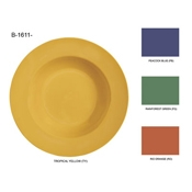 "G.E.T. 10.25"" Mix 3-Compartment Plates - Dinner Plates"