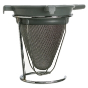 Matfer Bourgeat 17360 Boullion Strainer - Skimmers and Strainers