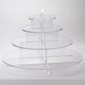 Rosseto Clear Cirque Display  - Servingware