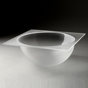 Rosseto Frosted Large Bowl Tray - Servingware