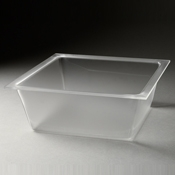 Rosseto Frosted Large Deep Square Tray - Servingware