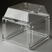 Rosseto Clear Large Pod Stand and Cover - Servingware