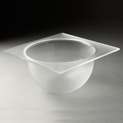 Rosseto Frosted Medium Bowl Tray - Servingware