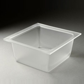 Rosseto Frosted Medium Deep Square Tray - Servingware