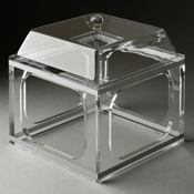 Rosseto Clear Medium Pod Stand and Cover - Servingware
