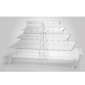 Rosseto Clear Large Pagoda Display  - Servingware
