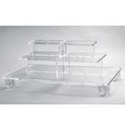 Rosseto Clear Small Pagoda Display  - Servingware