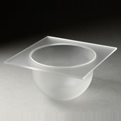 Rosseto Frosted Small Bowl Tray - Servingware
