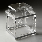 Rosseto Clear Small Pod Stand and Cover - Servingware