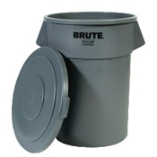 Rubbermaid 55 Gallon Gray Brute Lid - Rubbermaid