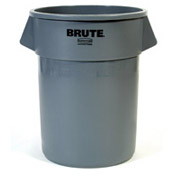Rubbermaid 55 Gallon Gray Brute Container - Rubbermaid