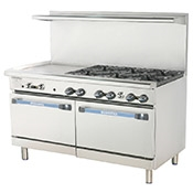"Turbo Air TARG-4B12G 36"" Radiance Restaurant Range - Restaurant Ranges"