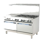 "Turbo Air TARG-6B24G 60"" Radiance Restaurant Range - Restaurant Ranges"