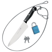 "Cook's 30"" Clear Knife Leash Kit - Cook's Brand"