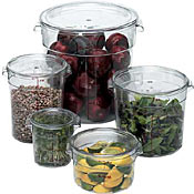 Food Storage Containers - Round Food Storage Containers