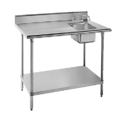 ? Work Tables ? Stainless Seel Work Tables with Built in Sink ...