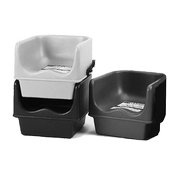 Cambro Single Booster Seats with Straps - Youth Seating