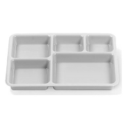 Cambro Beige Polycarbonate Base Trays - Cafeteria Trays