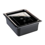 Cambro 1/4 Size Clear Flat Covers - Steam Table Pan Lids