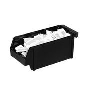 Cambro Organizer Black Bins - Condiment Servers