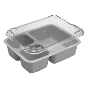 Cambro Beige Polycarbonate Insert Trays - Cafeteria Trays