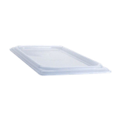 Cambro Translucent 1/9 Size Flat Covers - Steam Table Pan Lids