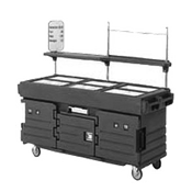 Cambro 6 Well Cart - Kiosks and Carts