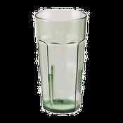 Cambro 16 oz Spanish Green Laguna Tumblers - Plastic Tumblers