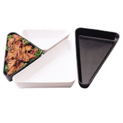 "Cambro Triangle 10""Wx10""Wx12""Lx2-1/2""H Trays - Servingware"