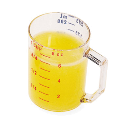 Cambro 1 Cup Dry Measuring Cup 25MCCW135