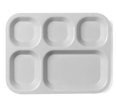 Cambro Tan Five Compartment Tray