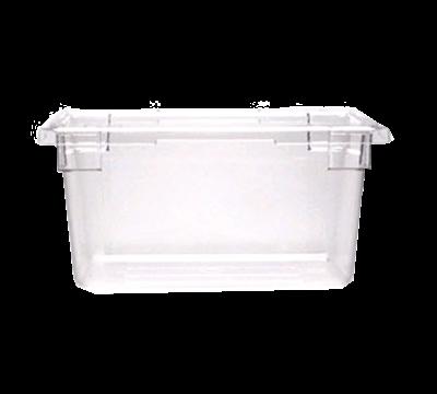 "Cambro Camwear 12""L x 18""W x 9""H Clear Food Storage Boxes"