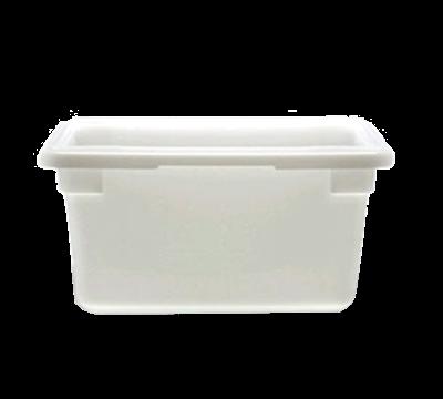 """Cambro Poly 12""""L x 18""""W x 9""""H White Food Storage Boxes"""