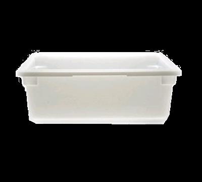 "Cambro Poly 18""L x 26""W x 9""H Natural White Food Storage Boxes"