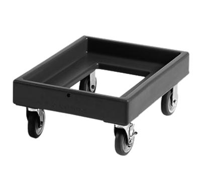"Cambro 17"" x 23"" Black Camdolly"