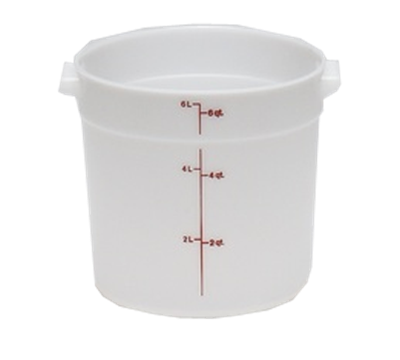 Cambro Poly 6 qt. Round Food Storage Containers