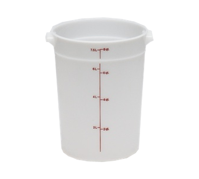 Cambro Poly 8 qt. Round Food Storage Containers