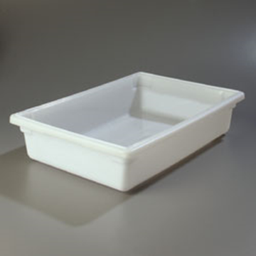 "Carlisle 18"" x 26"" x 6"" White Food Storage Box"