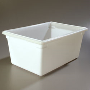 "Carlisle 18"" x 26"" x 12"" White Food Storage Box"