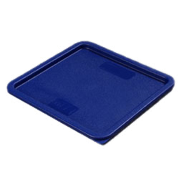Carlisle Blue Lid for 12-18-22 qt Square Containers