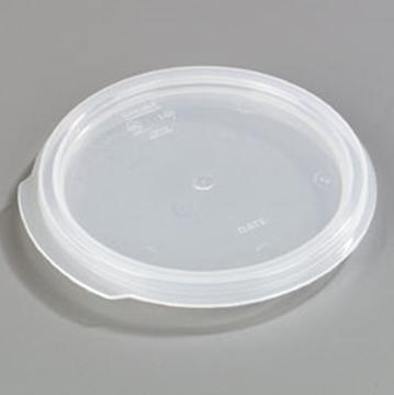 Carlisle StorPlus Translucent Lid for 1 qt Round Containers
