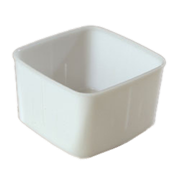 Carlisle White 2 qt Economical Space Saver