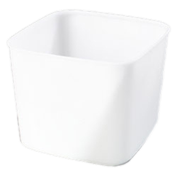 Carlisle White 6 qt Economical Space Saver