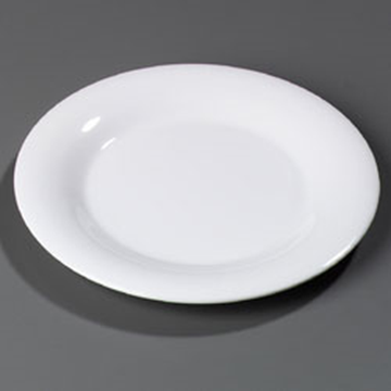 "Carlisle 10-1/2"" Wide Rim Dinner Plates"
