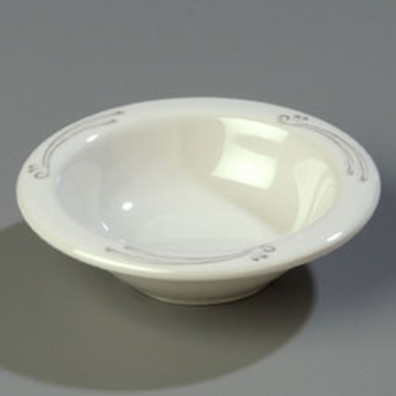 Carlisle 4-1/2 oz Pattern Rimmed Fruit Bowls