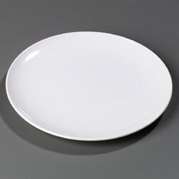 """Carlisle Epicure 12"""" White Epicure Buffet/ Pizza Plates"""