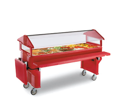 Carlisle 6' Youth Portable Food Bar