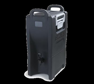 Carlisle IT50003 5 Gallon Black Beverage Dispenser